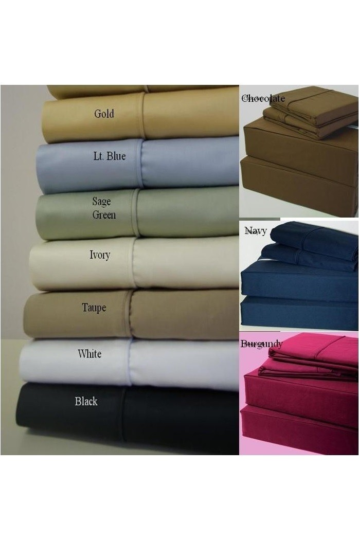 Super Single Waterbed Sheets Rt solid Super Single 450 Thread Count Waterbed Sheets