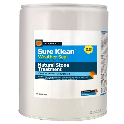 Sure Klean Weather Seal Pro 4005705 Prosoco Sure Klean Natural Stone Weather