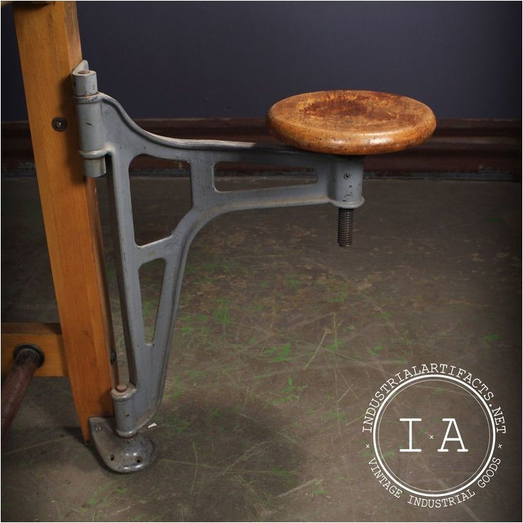 swing arm stool
