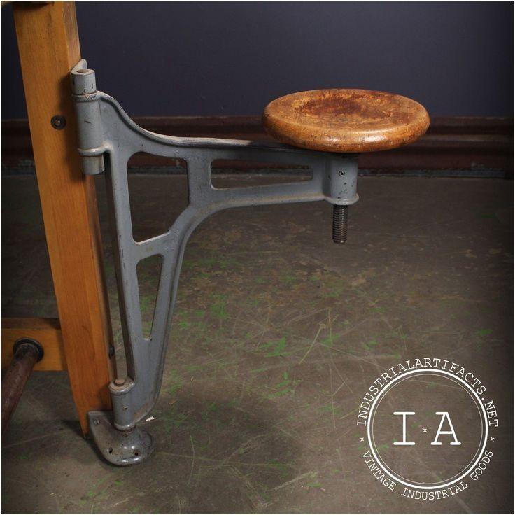 swing arm stool