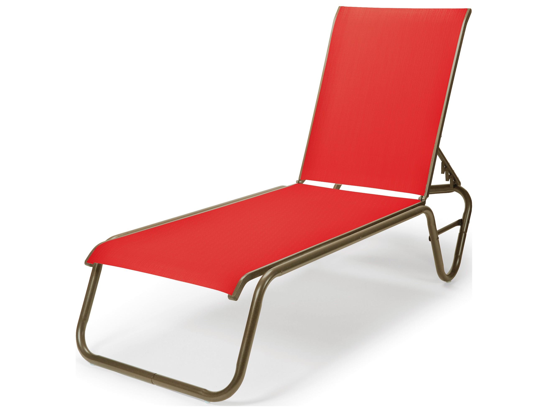 telescope casual gardenella aluminum sling patio chaise lounge tc8080