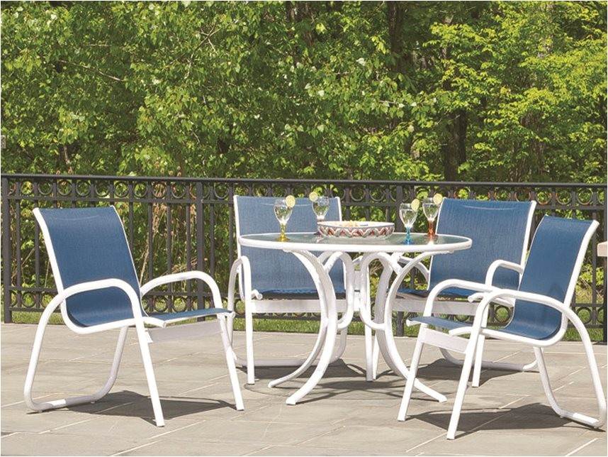 telescope casual gardenella aluminum sling patio dining chair tc7670