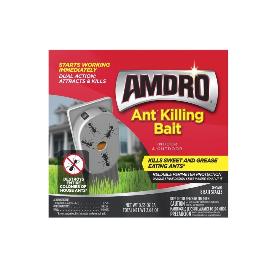 amdro 8 count indoor outdoor ant bait station