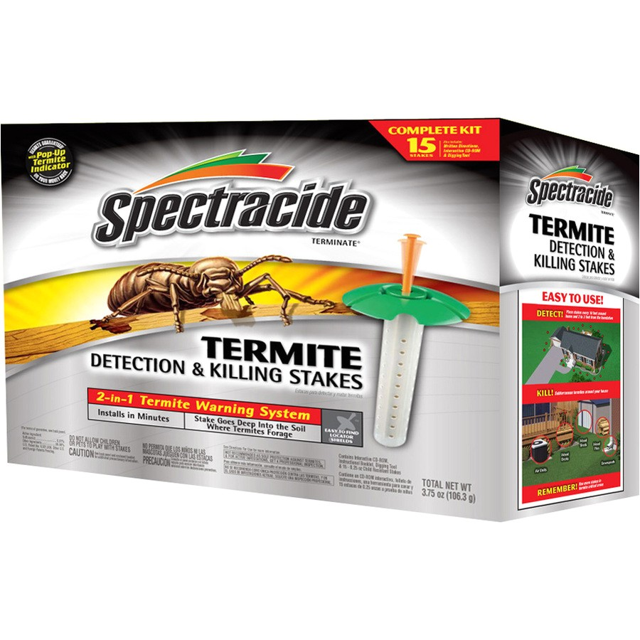 Termite Bait Stations Lowes Spectracide Terminate 15 Ct Termite Detection Killing Stakes at