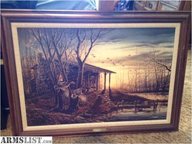 wichita kansas misc for sale trade terry redlin prints