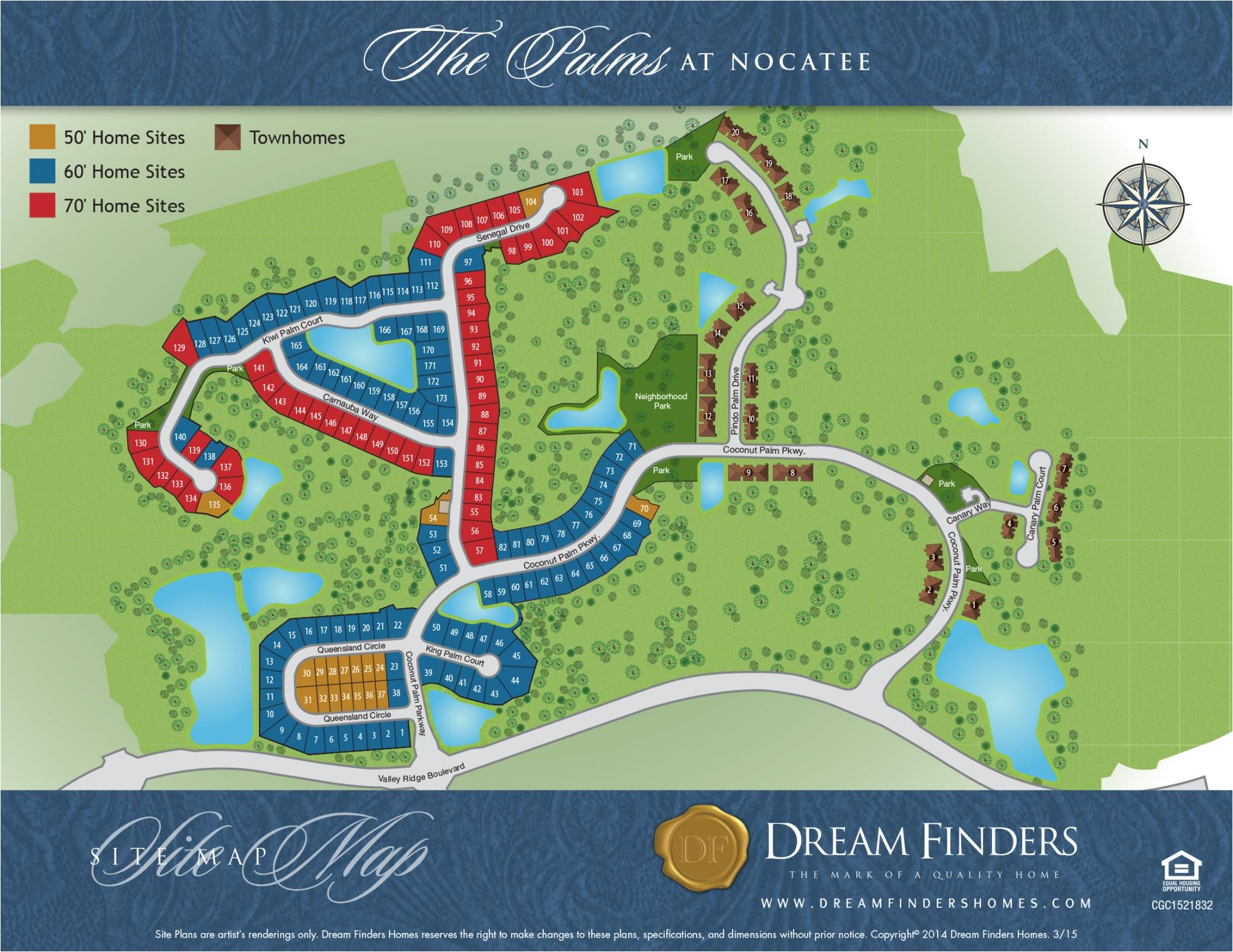 the palms at nocatee townhomes