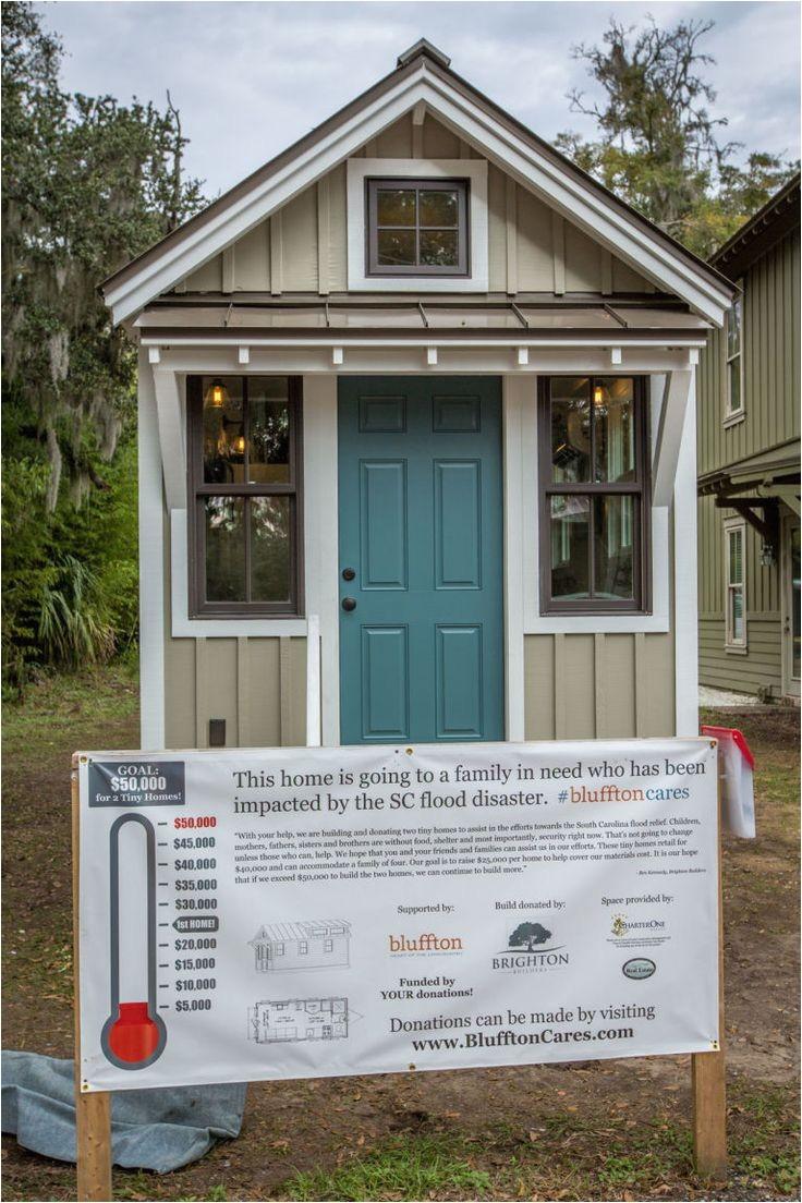 tiny house donated to south carolina flood victims