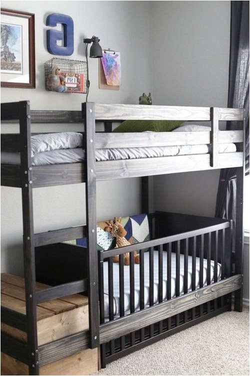 bunk bed crib