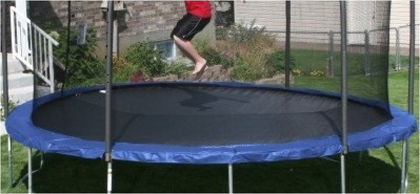 skywalker 17x15 foot oval trampoline