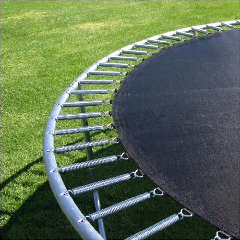 8ft trampoline enclosure set with safety net and ladder 76491