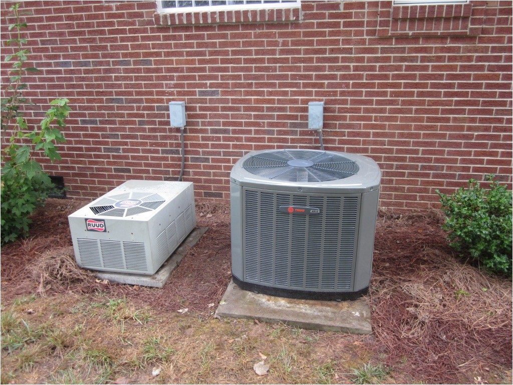 trane air conditioners and heat pumps