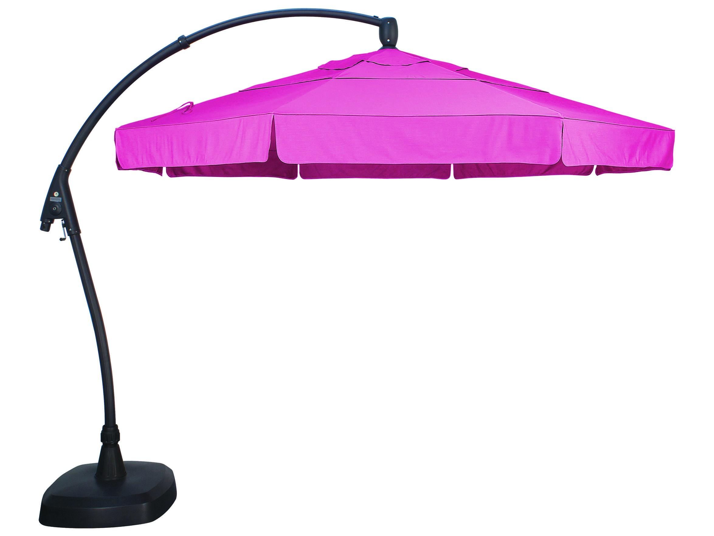 treasure garden 11 feet wide patio umbrella exag28