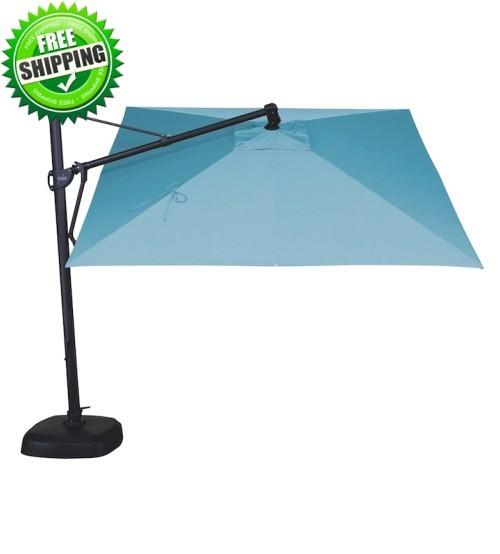 10 square akz cantilever umbrella custom order with sunbrella or outdura fabrics