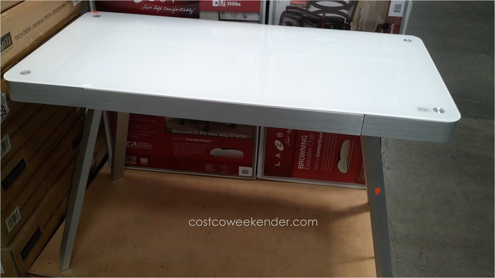 tresanti tech desk costco 855897
