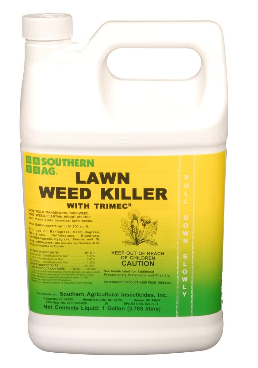 Trimec Classic Oz Per Gallon Lawn Weed Killer 2 4 D Trimec 1 Gal