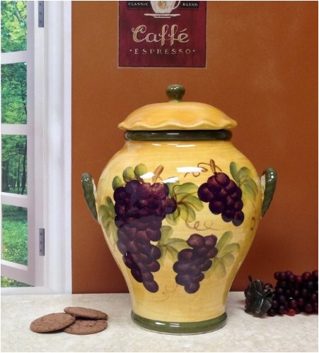 tuscany grapes kitchen decor