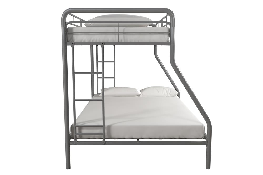 Twin Over Full Metal Bunk Bed assembly Instructions Acme Eclipse Twin Over Full Futon Bunk Bed assembly