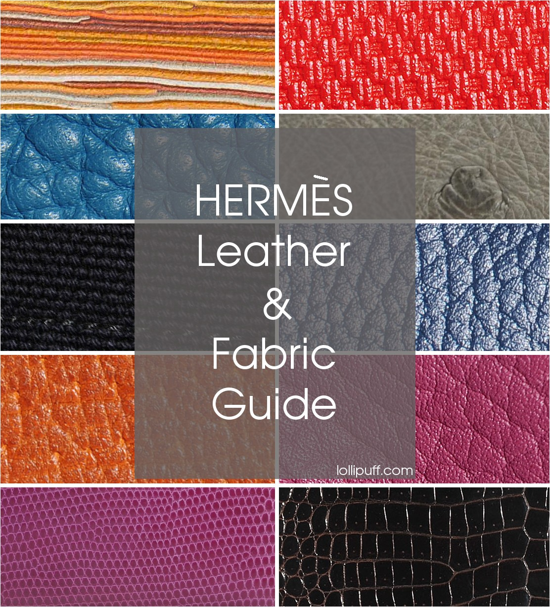 hermes leather and fabric look up guide bag handbag