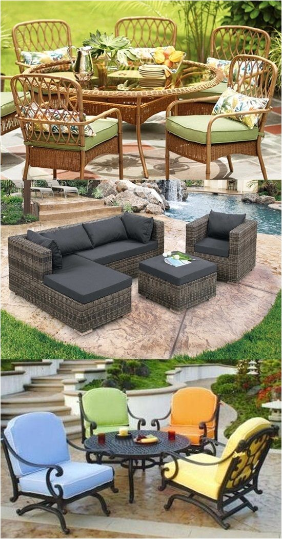 Types Of Patio Furniture Materials Patio Furniture Types and Materials Interior Design