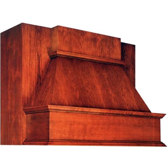 Unfinished Wood Range Hoods Wood Range Hoods J Series Between Cabinet Wall Mount