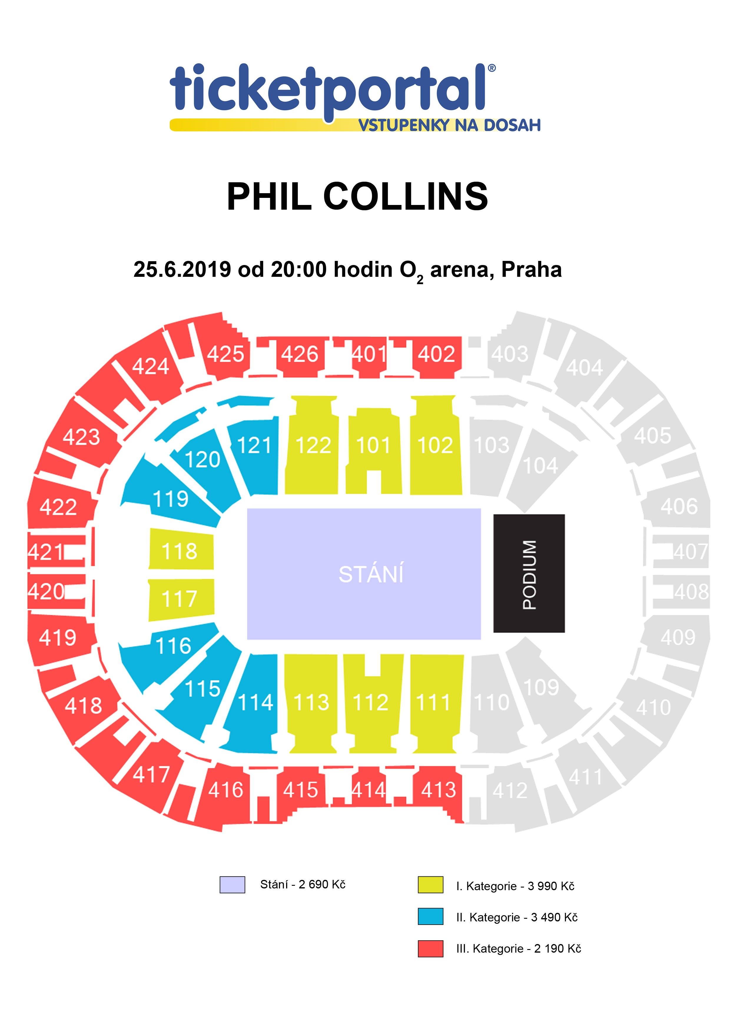price categories orientation plan phil collins 2019 ii