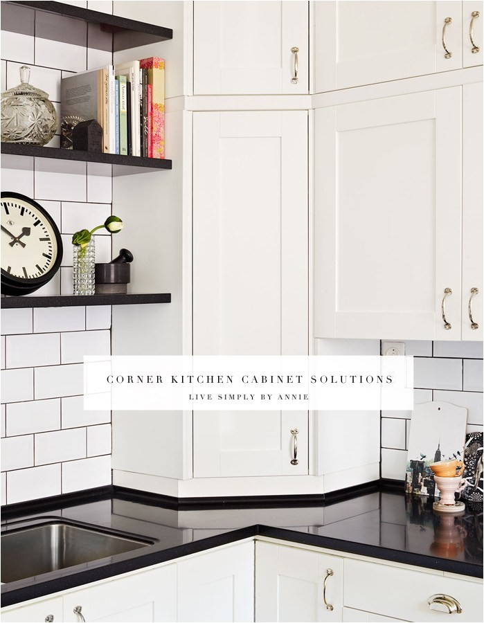 upper corner kitchen cabinet solutions