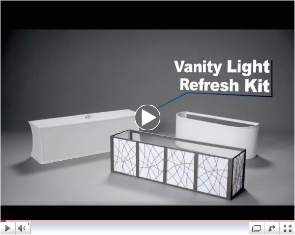 Vanity Light Refresh Kit Lowes Lighting Simply Staged Llc