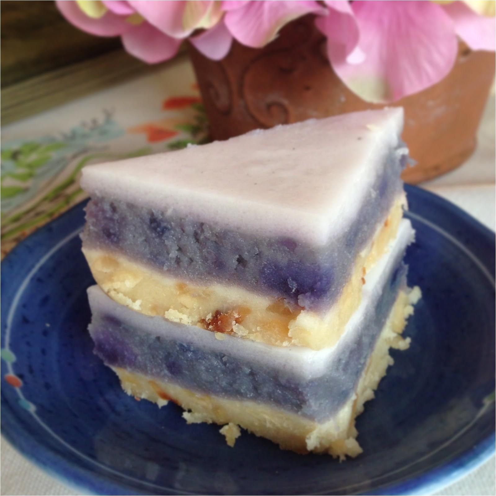 okinawan sweet potato haupia pie