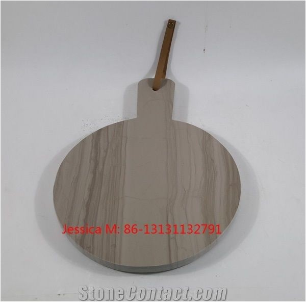 Veins Wood Cutting Board Wood Grain Veins Marble Stone Cheese Board Marble Cutting