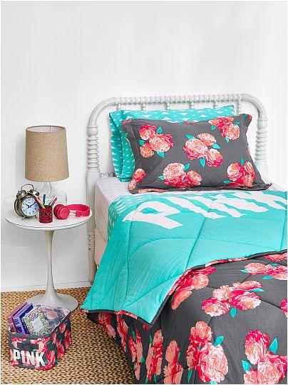 reversible quilted comforter pink victoria s secret