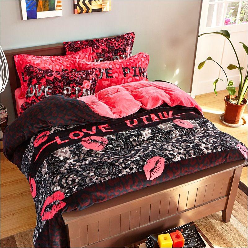 victoria secret pink velvet model 7 queen size