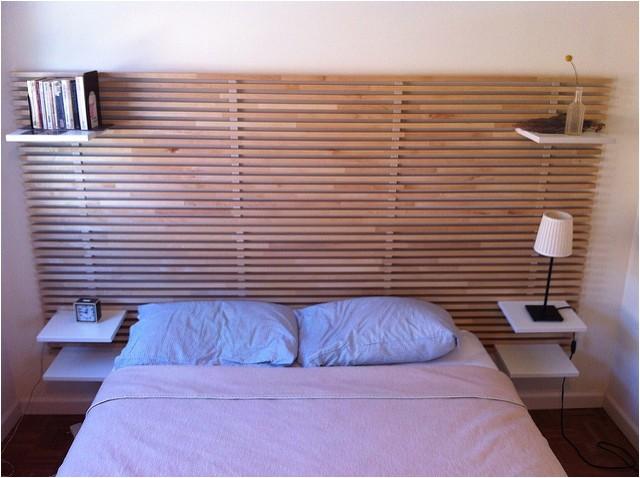 ikea mandal wall mounted headboard