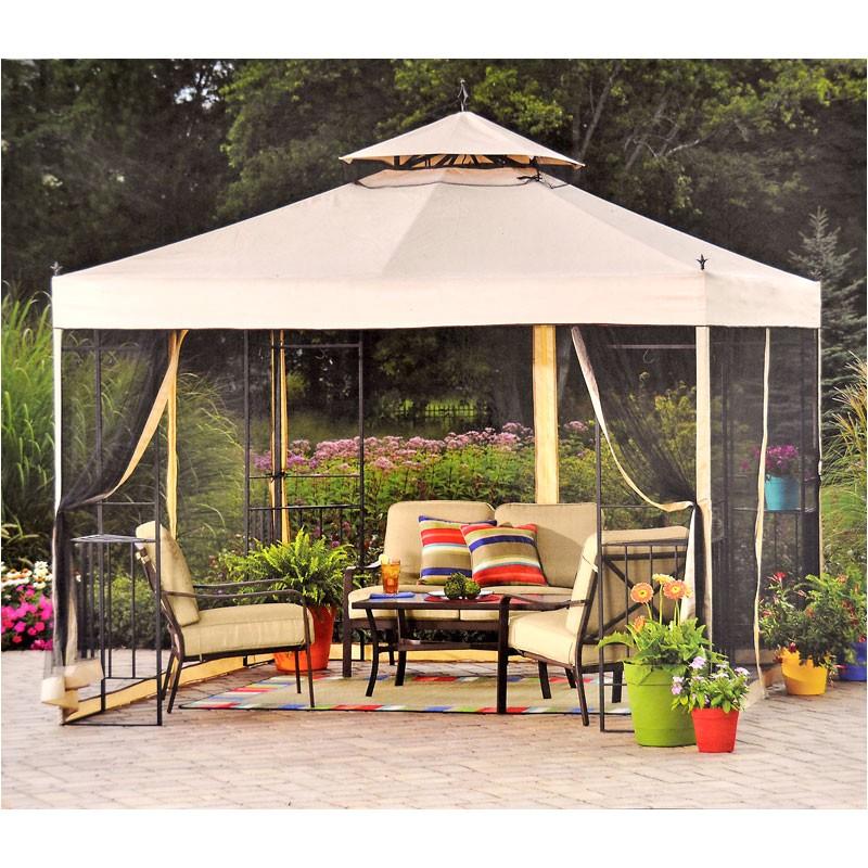 walmart athena gazebo replacement canopy riplock p 2942