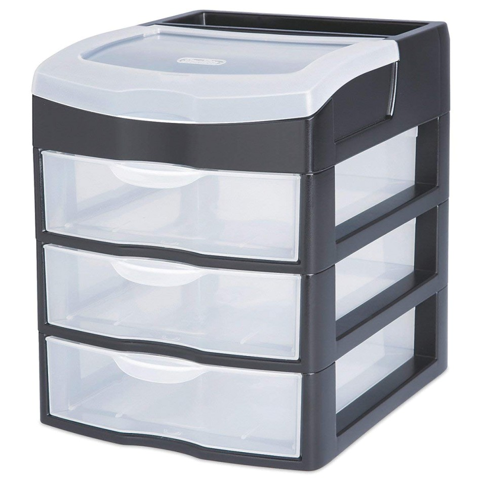 alluring sterilite stackable drawers for organizing closet and living areas