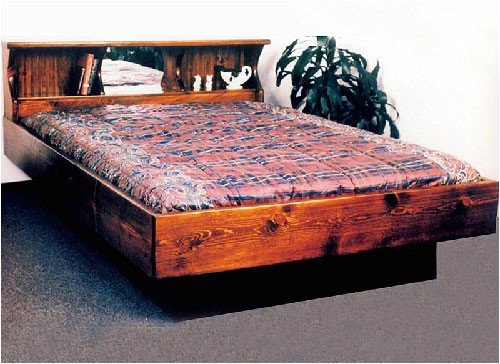 wooden framed waterbeds