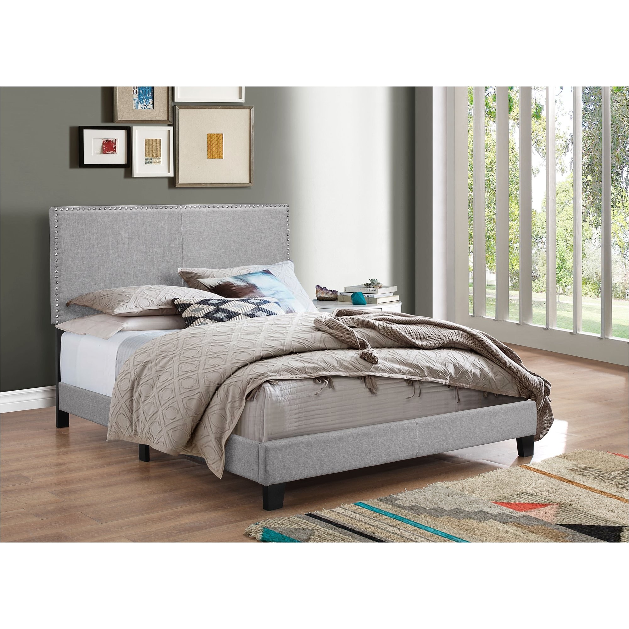 crown mark erin upholstered panel bed lmdw1087 refid sbp
