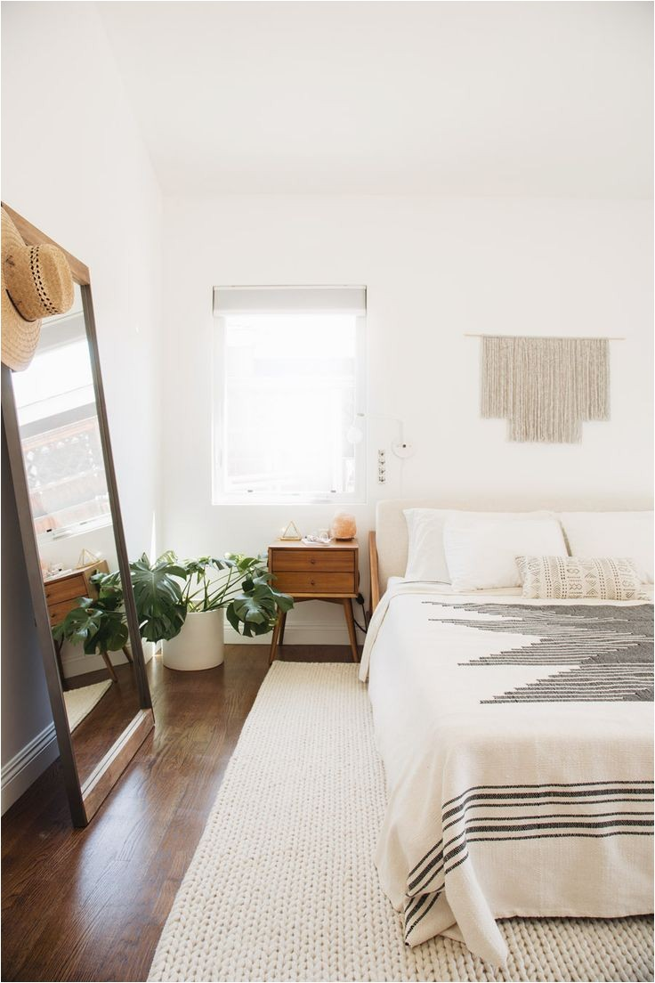 west elm bohemian style bedroom makeover with molly madfis of almost makes perfect