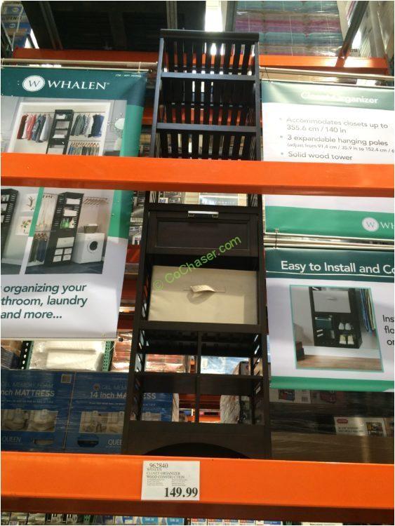 Whalen Closet organizer Wood Construction Costco Whalen Closet organizer Wood Construction Costcochaser