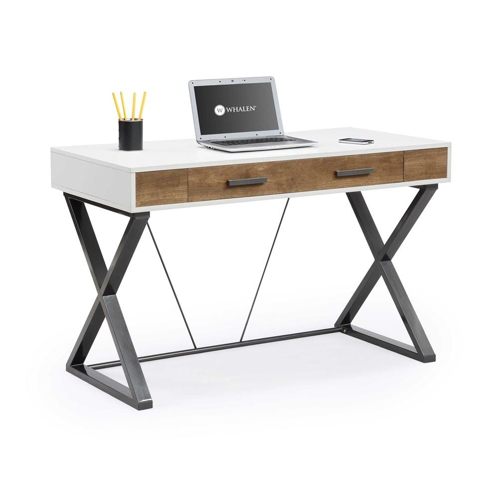 whalen furniture jcs30203 2ad samford contemporary computer desk g2409913