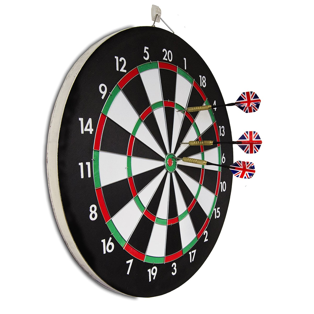 wood effect dart board