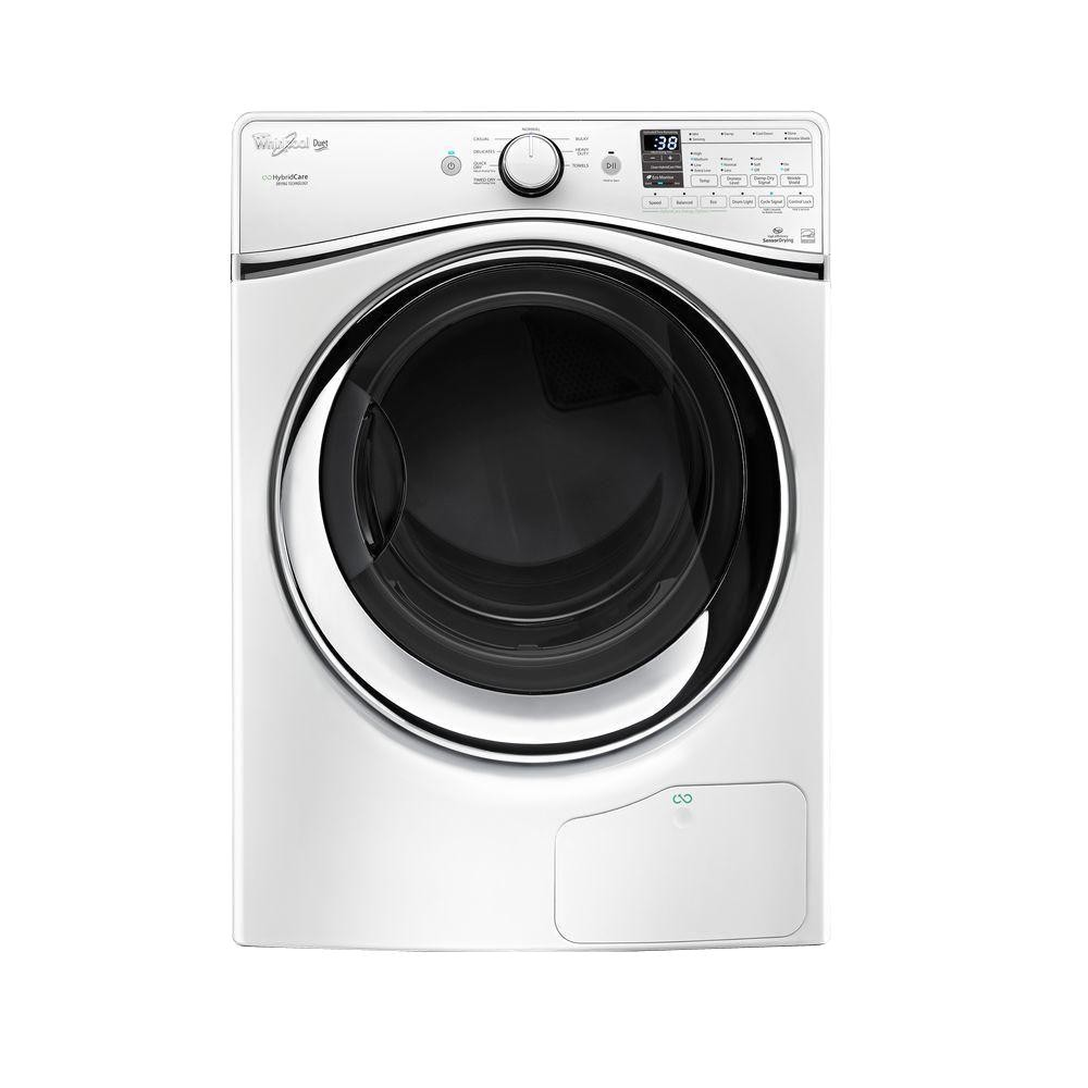 whirlpool duet 73 cu ft ventless electric dryer with heat