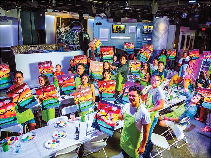 field notes tap into your inner picasso at these paint parties around honolulu