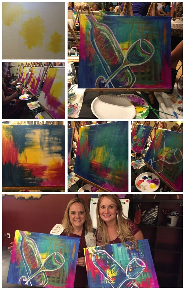 pinots palette paint and wine studio in jacksonville fl