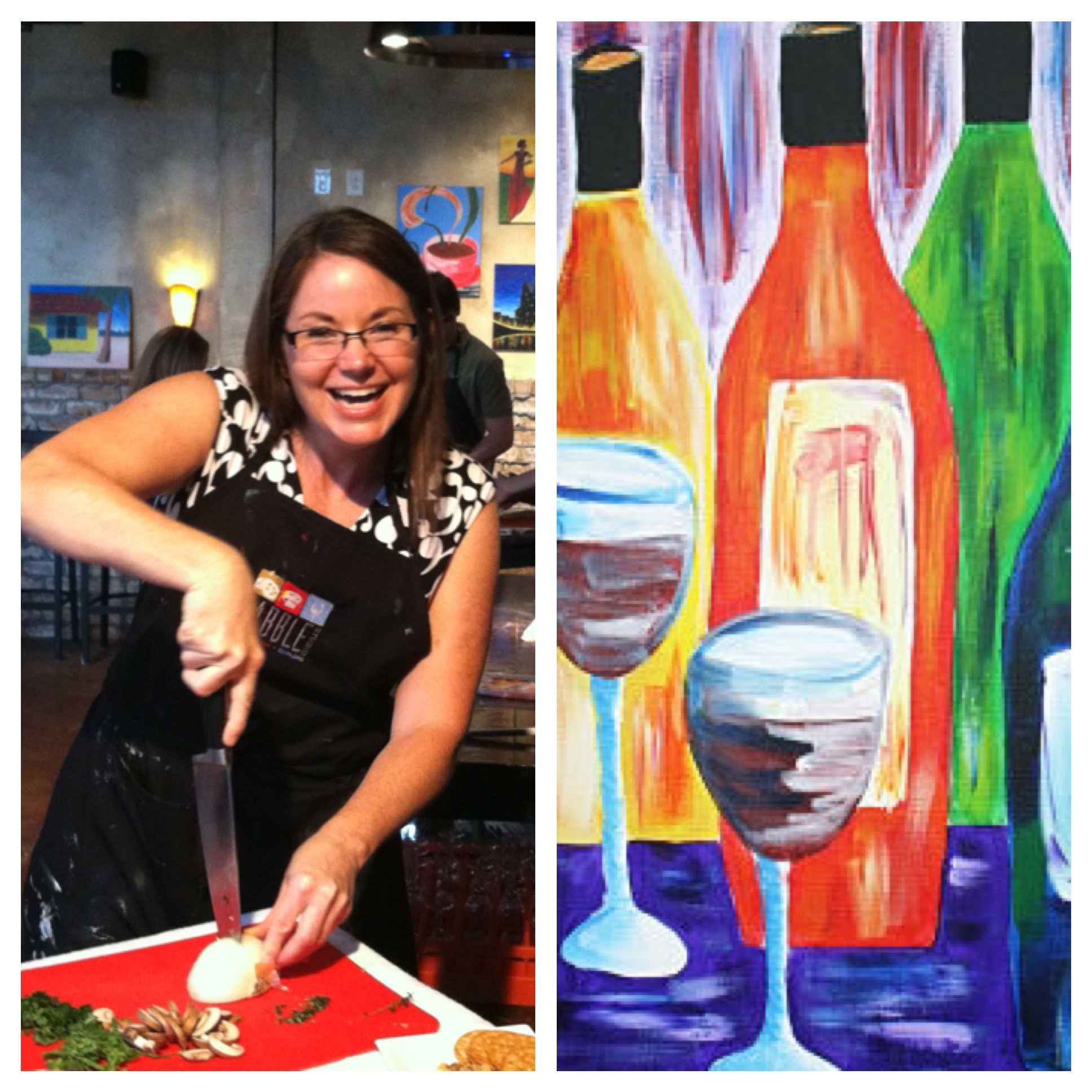 wine and painting nashville