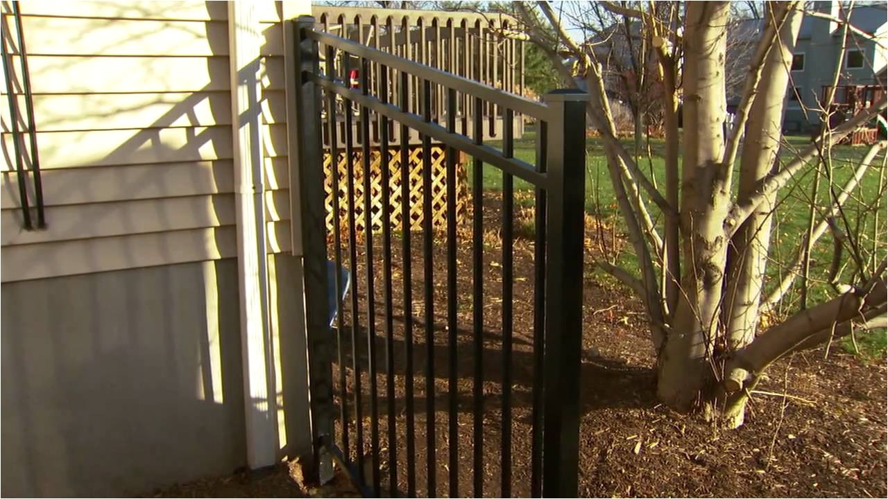 decorative metal fence installation tips installing posts and panels youtube