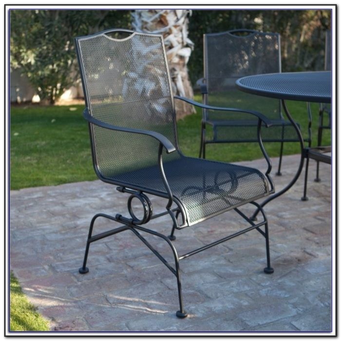 5 piece wrought iron patio furniture