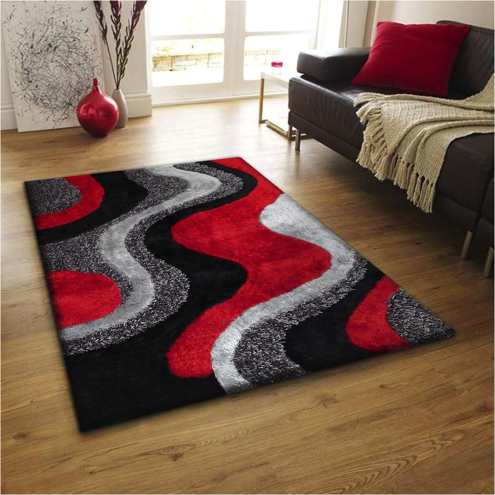 red black area rugs
