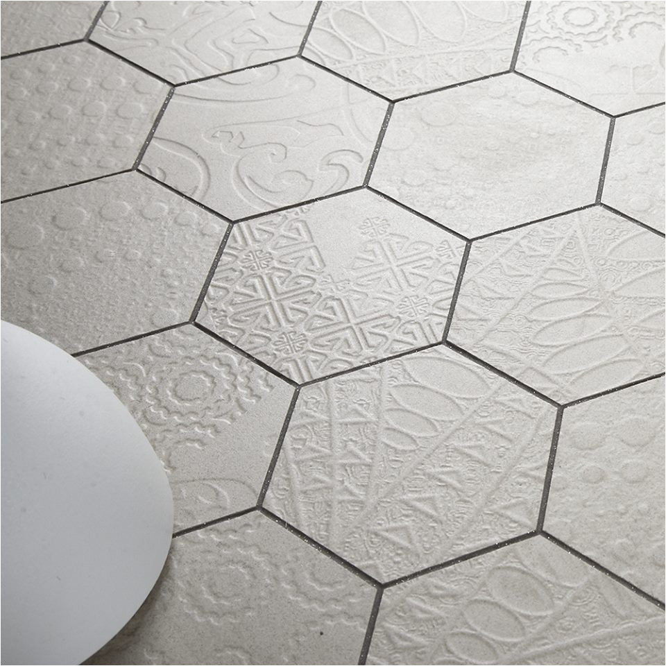 hexagon tiles patterned tiles new relief pattern available at ceramica info ceramica us