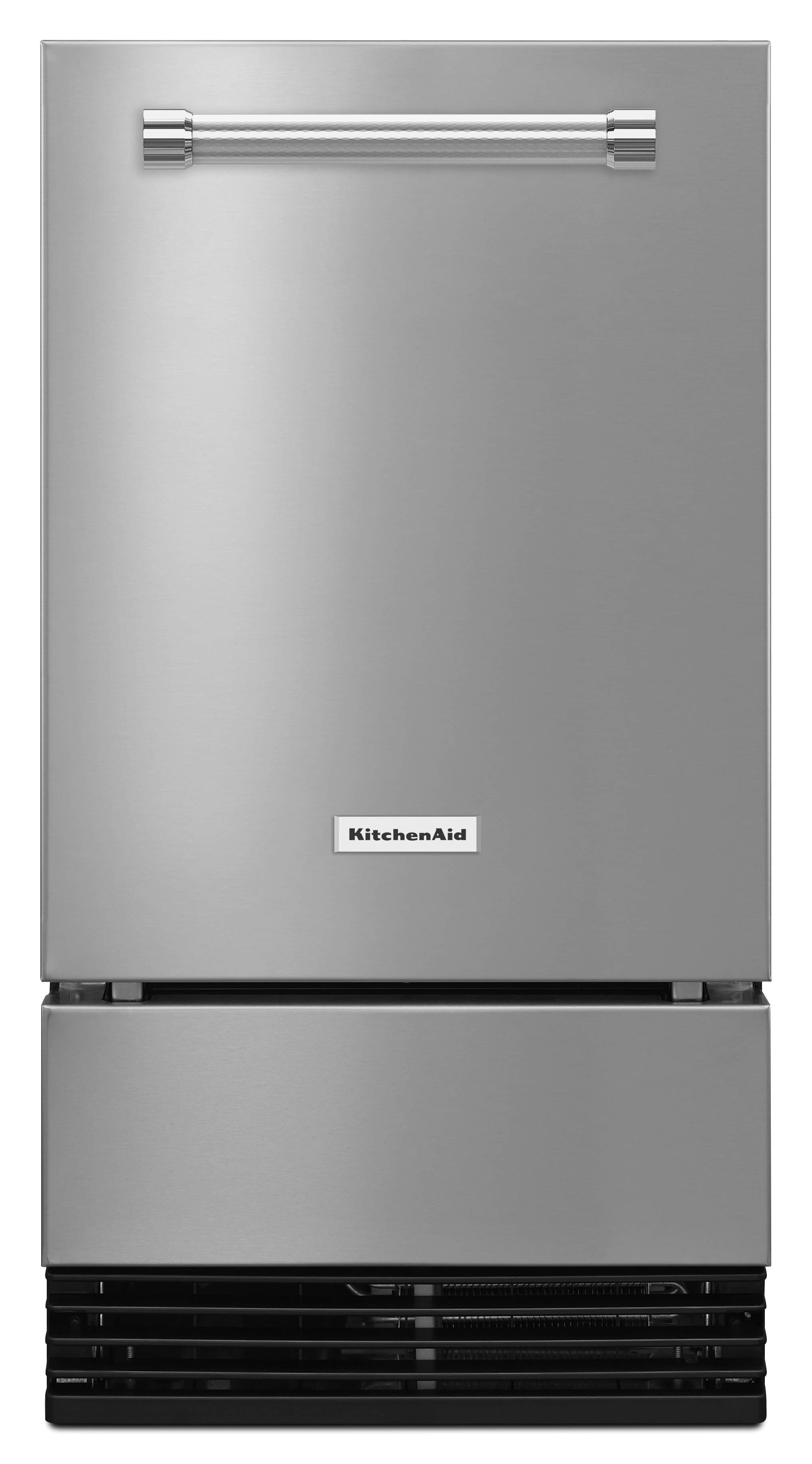 kuid508ess kitchenaid 18 automatic icemaker with clear ice technology factory installed drain pump stainless steel