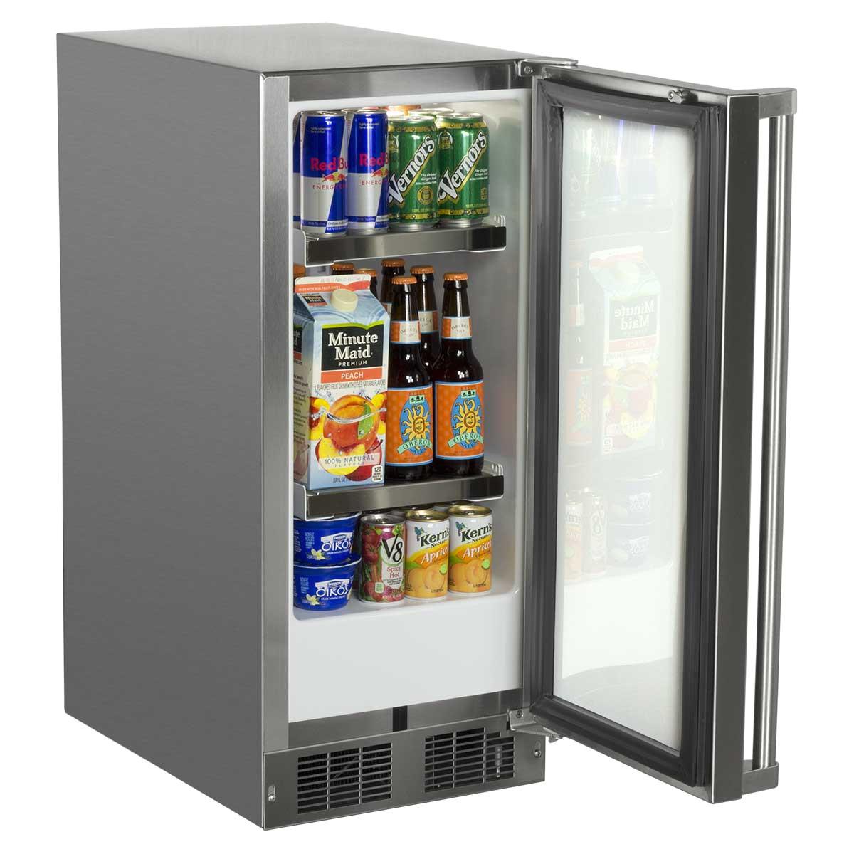 18 Shallow Depth Undercounter Refrigerator Undercounter Refrigerators From Marvel Refrigeration
